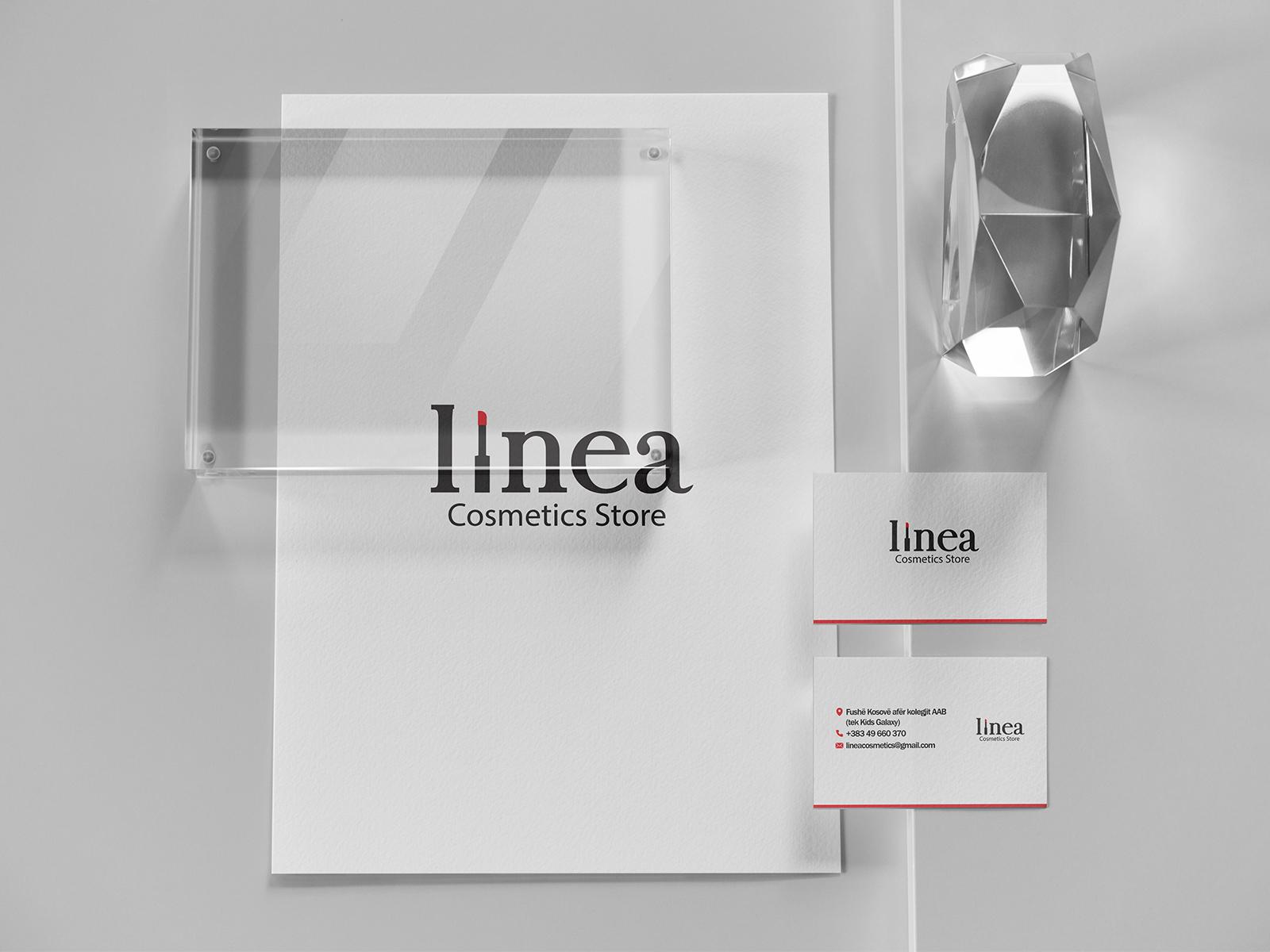 Linea Cosmetics Brand Identity Asha