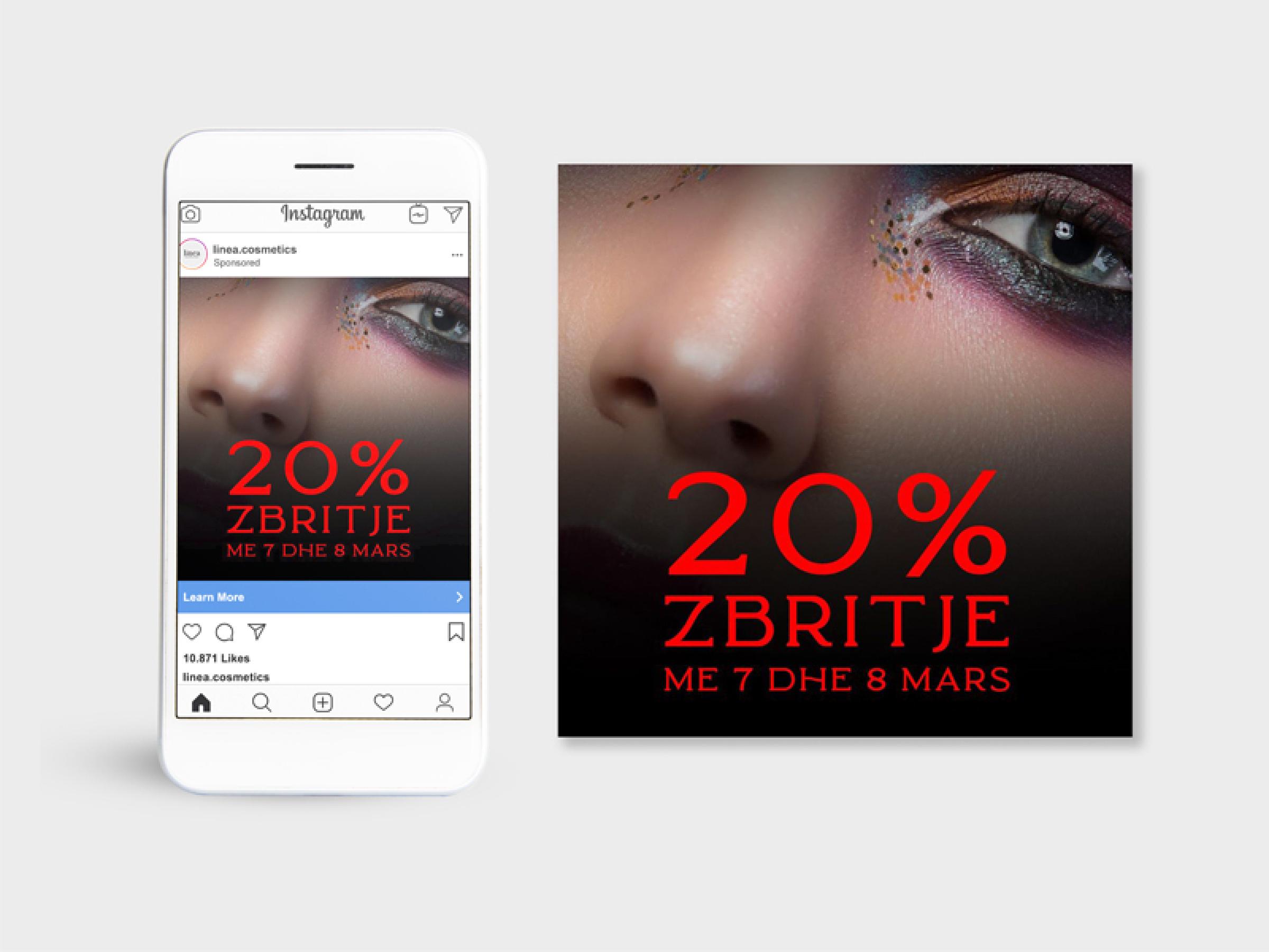 linea cosmetics brand identity by asha